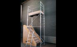 Prodejna a půjčovna lešení a věží, ZDENĚK VORLICKÝ, stavební stroje
