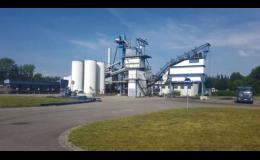 Obalovna pro výrobu asfaltových směsí, Skanska a.s.