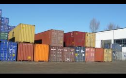 Námořní kontejnery, METRANS, a.s.