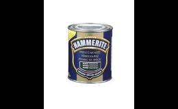 Barvy na kov Hammerite - aplikace přímo i na zrezivělý povrch