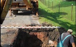 Kanalizace a stavební práce, Karel Rulf