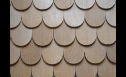 Šindele ze standardních i exotických dřevin, Okna Bastl