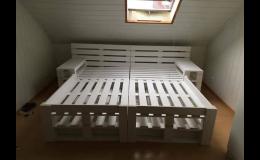 Výroba nábytku z palet, Pila Benda s.r.o.