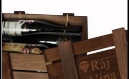 dárkové balení vína, Ráj Vína s.r.o.