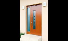 Dřevěné vchodové dveře, BOHEMIO CZ, s.r.o.