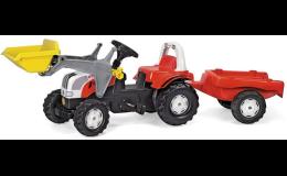 Traktor šlapací STEYR CVT- modely, hračky a stavebnice pro děti, AGS Ing. Beneš