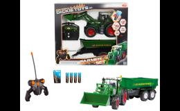 Traktor FENDT s návěsem - modely, hračky a stavebnice pro děti, AGS Ing. Beneš