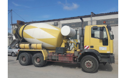 Rozvoz betonu a malty Kolín - Mixem