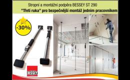 Stropní a montážní podpěra Bessey ST290, OKENTĚS, spol. s r.o.
