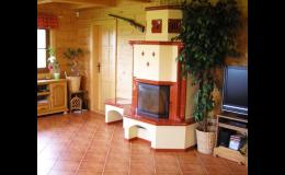 Vybavte dům krbovými kamny nebo krbem, WALFER spol. s r.o. – Srubové domy