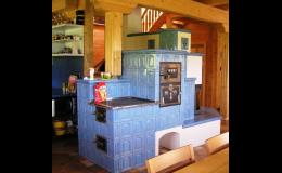 Kamna na dřevo do srubu, WALFER spol. s r.o. – Srubové domy