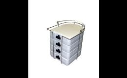 Boxy na přepravu jídla pro nemocnice, ABNER, a.s.
