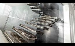 Žulovové nášlapy a schody, MS Trade Company, s.r.o.