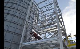 stavba ocelové konstrukce a opláštění-, KAMAX - METAL s.r.o