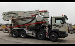 Výroba betonu - betonové směsi včetně, Andrla CZ s.r.o. Opava.