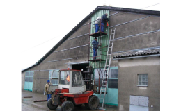 Kompletní výstavby hal na klíč