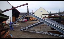 Stavba ocelových konstrukcí na klíč