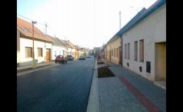 Výstavba silnice Zlín, Uherské Hradiště