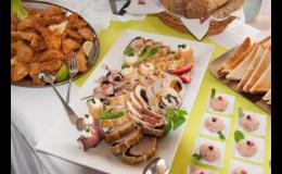 Catering na oslavy, rauty, párty, svatby