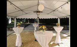 Občerstvení a obsluha pro velký firemní večírek