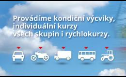 Kondiční jízdy pro skupiny A, B, nákladní vozy i autobusy