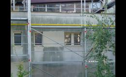 Mytí paneláků a výškových budov