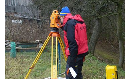 Zeměměřické a geologické práce, projekční činnost, skenování