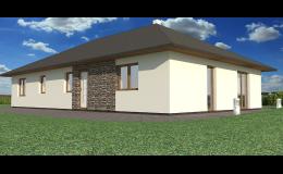 Výstavba nízkoenergetických rodinných domů