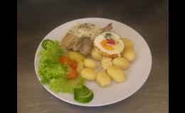 Odpolední menu pro firmy i jednotlivce - Catering & jídelna Raduň