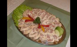 Odpolední menu - rozvoz - Catering & jídelna Raduň