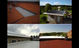 Izolace střech, IZOLACE M s.r.o.