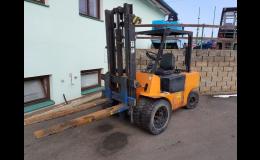 Paletový vozík - snadná manipulace AUTO-AGRO-HOLÍK, s.r.o.
