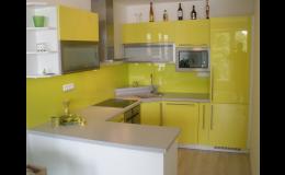 Moderní kuchyně na míru, Výroba nábytku