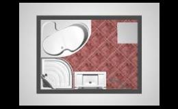 Grafické návrhy koupelen Instal Renč