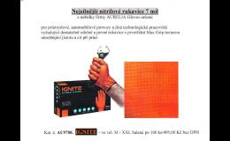 Nitrilové rukavice prodej Praha