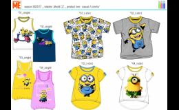 licenční textilní výrobky