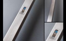 Biometrický přístupový systém, madlo_otisk_prstu_PERITO