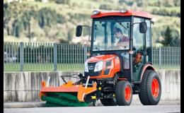 Traktory a komunální technika pro obce