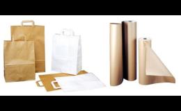 Papírové tašky a lepenka v rolích - MODEL PACK SCHOP