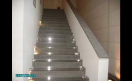 Kamenné schody - Kamenictví Škrobánek