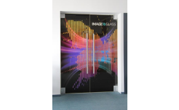 Dveře s potiskem Frajt