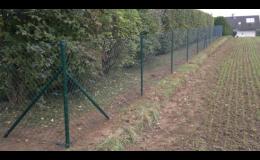 GAVES PLOT: Oplocení zahrady i velkého průmyslového objektu