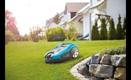Robotická sekačka na trávu Gardena