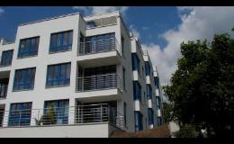 Praha - stavba bytových domů