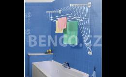 Sušák na prádlo IDEAL, stropní sušák na prádlo,  sušák na prádlo přímo do stěny