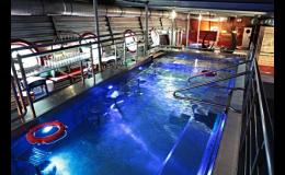 Wellness hotel s relaxačním bazénem s barem, lehátka s masážními tryskami i sauny, Kurdějov, Hustopeče