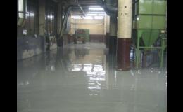 Pancéřované podlahy, PETR´S stavební, inženýrská s.r.o, Olomouc