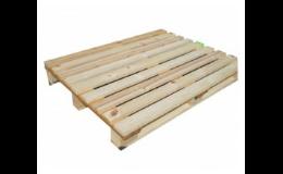 Jan Šuster: dřevěné bedny a palety