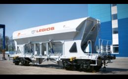Výroba nákladních vagónů, opravy kolejových vozidel a lokomotiv, LEGIOS