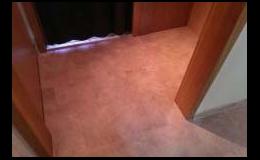 Podlahové studio Jegla: vinylová podlaha, podlahy podlahářské práce, Zlín, Uherské Hradiště, Uherský Brod, Kroměříž